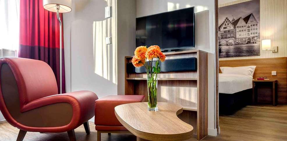 Aparthotel adagio frankfurt city messe francfort allemagne for Adagio appart hotel barcelone