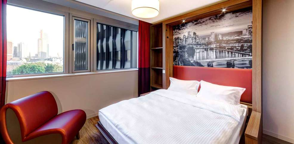 Aparthotel adagio frankfurt city messe frankfurt duitsland for Aparthotel adagio barcelone