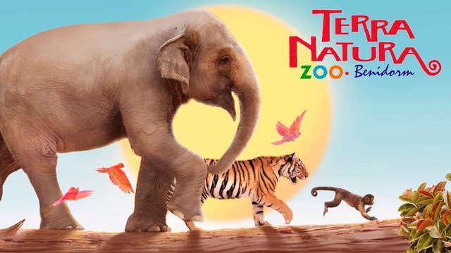 Entrada para el ZooParc Terra Natura Benidorm para 2 adultos
