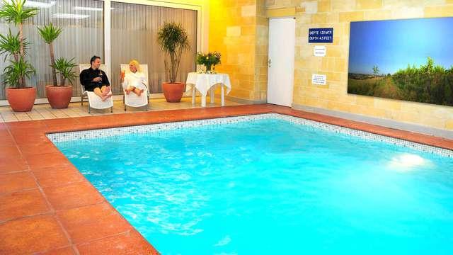 Accès à la piscine intérieure (jour 1 et jour 2)