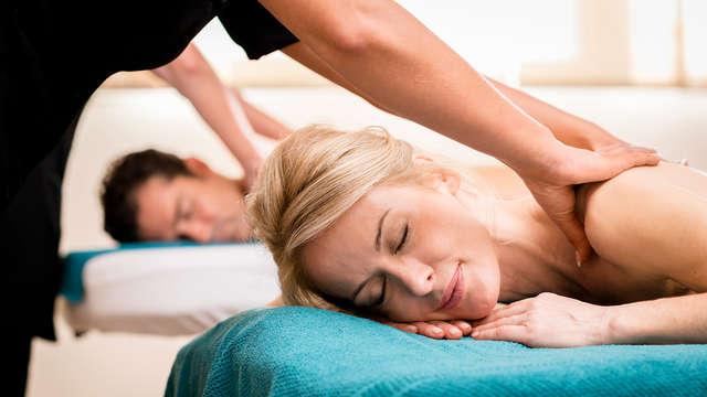 Ontspanningsmoment met massage en ontbijt met bubbels