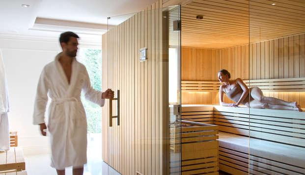 Tiara Chateau Hotel Mont Royal Chantilly - NEW sauna