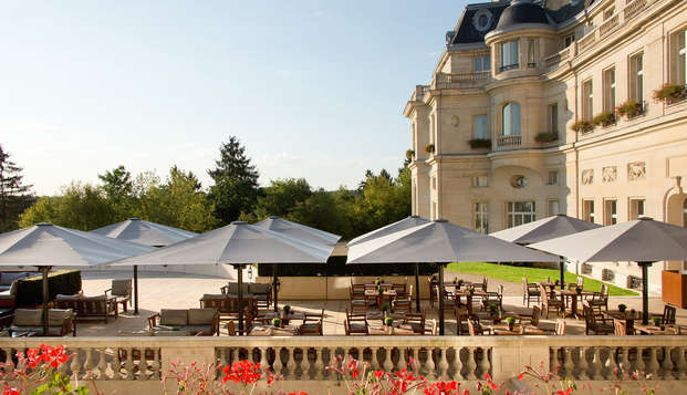 Tiara Chateau Hotel Mont Royal Chantilly - NEW terrace