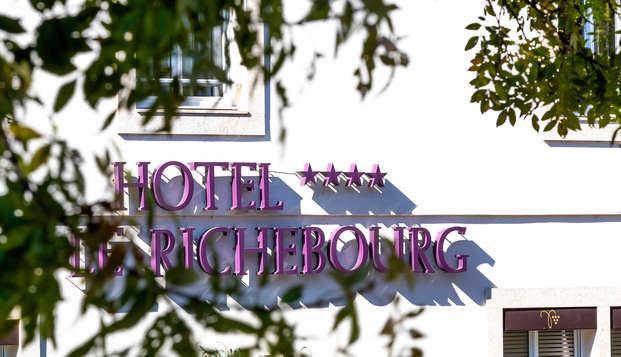 Le Richebourg Hotel Restaurant et Spa - NEW FRONT