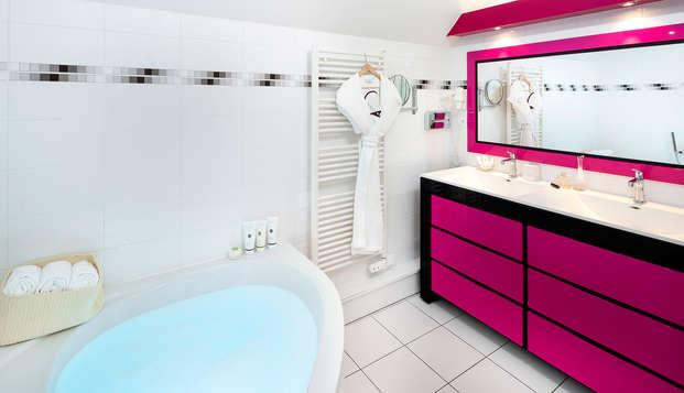 Le Richebourg Hotel Restaurant et Spa - NEW BATHROOM