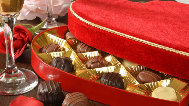 1 Coffret de chocolats