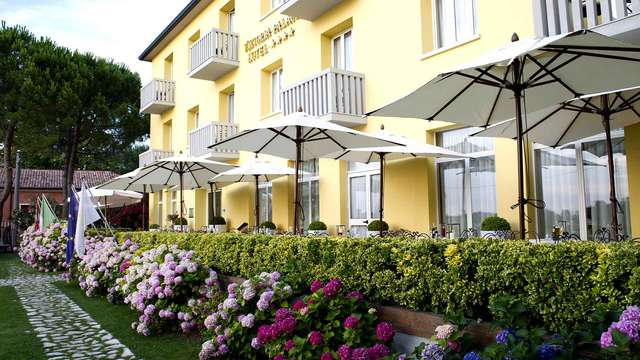 A Lido di Venezia in un esclusivo hotel 4* superior