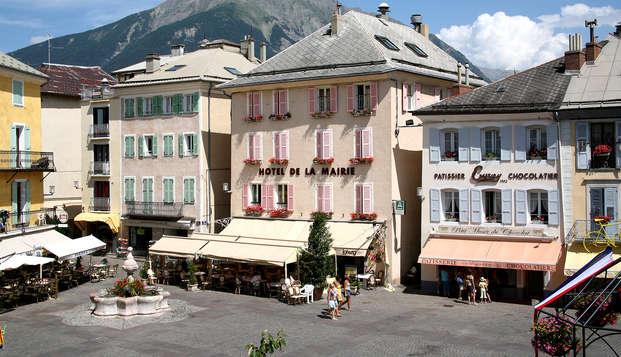 Noche romántica en el verde corazón de los Alpes franceses