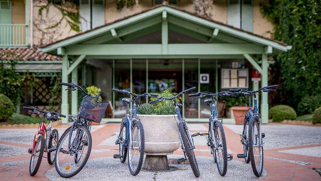 Domaine De Fompeyre - NEW bike