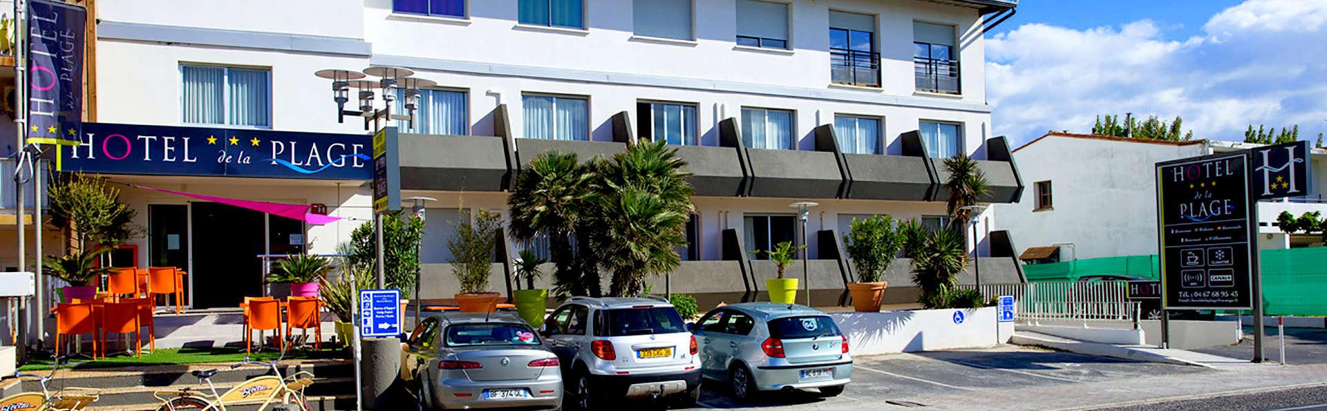 Hôtel de la Plage Montpellier Sud - Palavas - Edit_Front.jpg