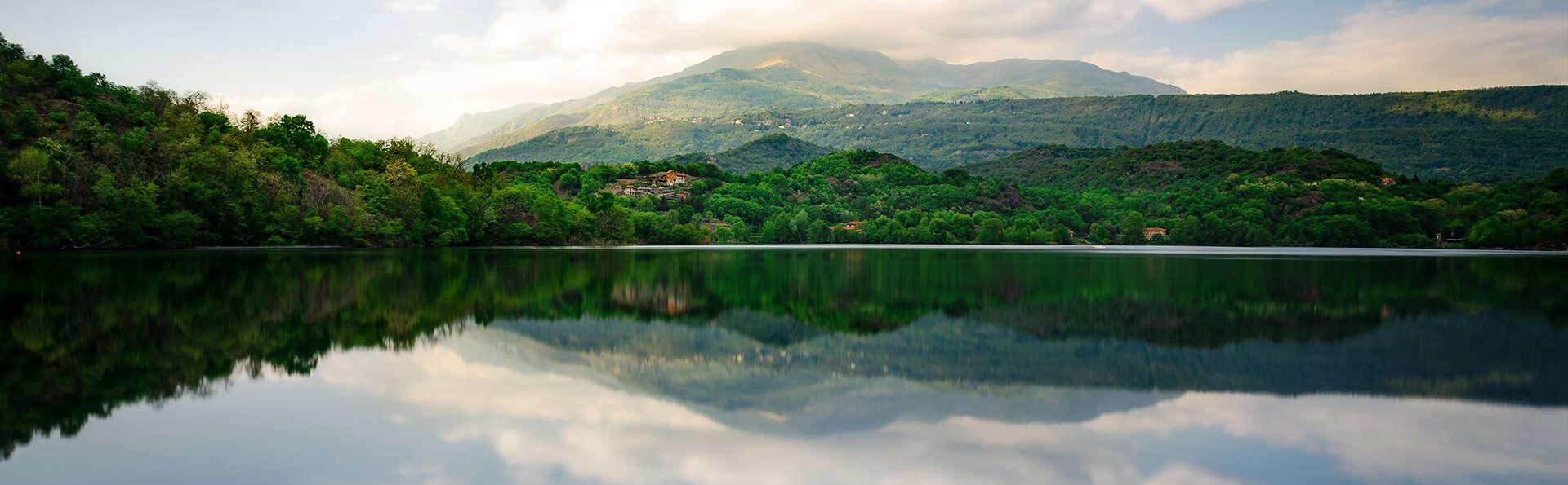 Week-end romantique dans un village piémontais, avec vin en chambre !