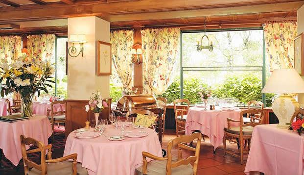 Dîner gastronomique et vue sur le lac, à deux pas d'Évian-les-Bains