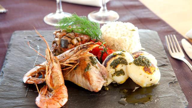 Pause gourmande avec dîner près de Montpellier