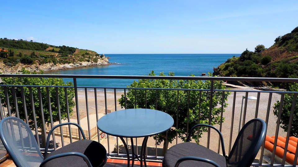 Week end en amoureux banyuls sur mer avec acc s au bain - Hotel avec jacuzzi dans la chambre pyrenees orientales ...
