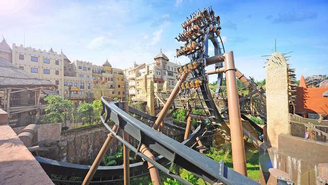 Descubre el famoso parque de atracciones Phantasialand y alójate en la ciudad cultural de Brühl