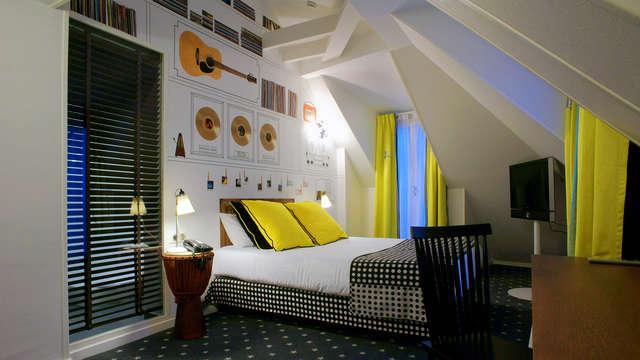 Week-end en chambre deluxe dans un hôtel design à deux pas de la Madeleine