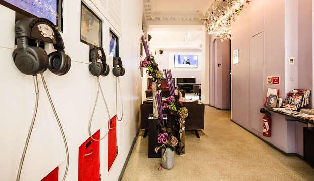 Week-end à Paris dans un hôtel design du 8e arrondissement