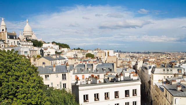 Week-end à Paris à deux pas du Sacré-Coeur