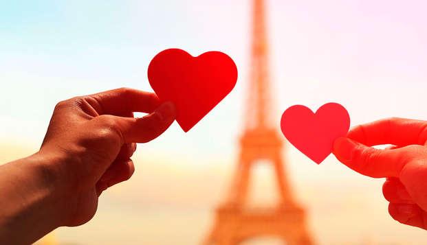 Vivez la Saint Valentin en plein Montmartre avec champagne !
