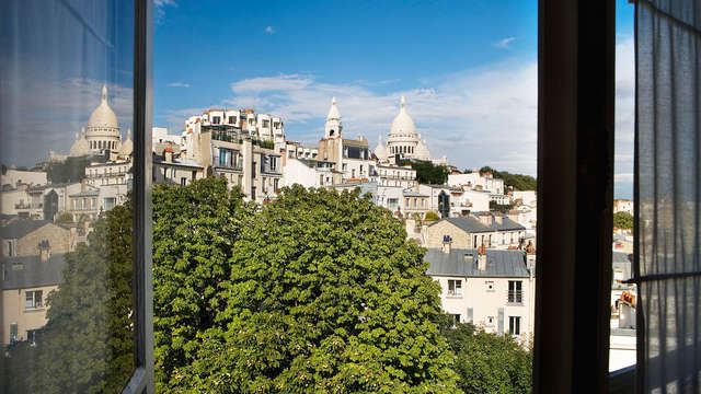 Séjour romantique en plein cœur de Montmartre