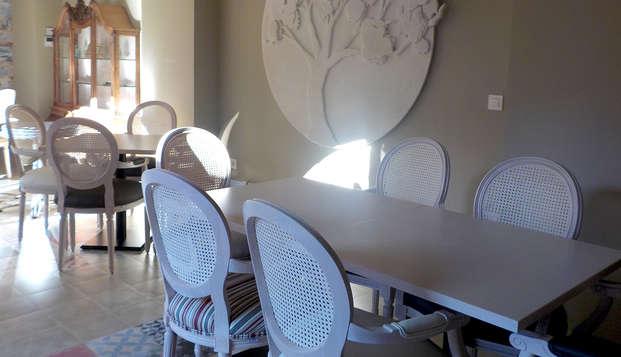 Alojamiento con Encanto la Luna en el Alba - Restaurant