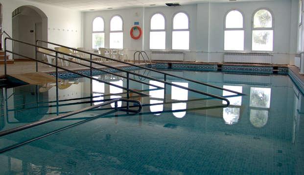 Spécial Spa : Pension complète, piscine thermale illimitée et 4 traitements !