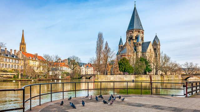 Découvrez la ville de Metz dans un hôtel de charme