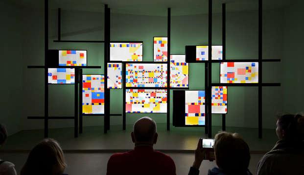 Ontdek de stad Amersfoort, gratis toegang tot het Mondriaanhuis!
