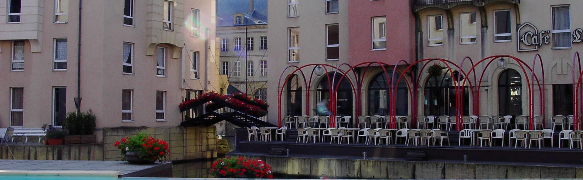 Séjour en chambre supérieure près du port de Metz