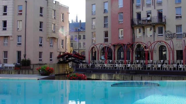 Speciale aanbieding: weekend in superieure kamer nabij de haven van Metz