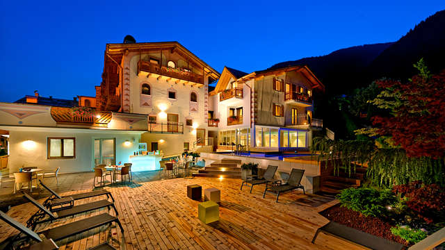 Mezza pensione ed accesso alla spa in Val di Sole, nel cuore del Trentino Alto-Adige
