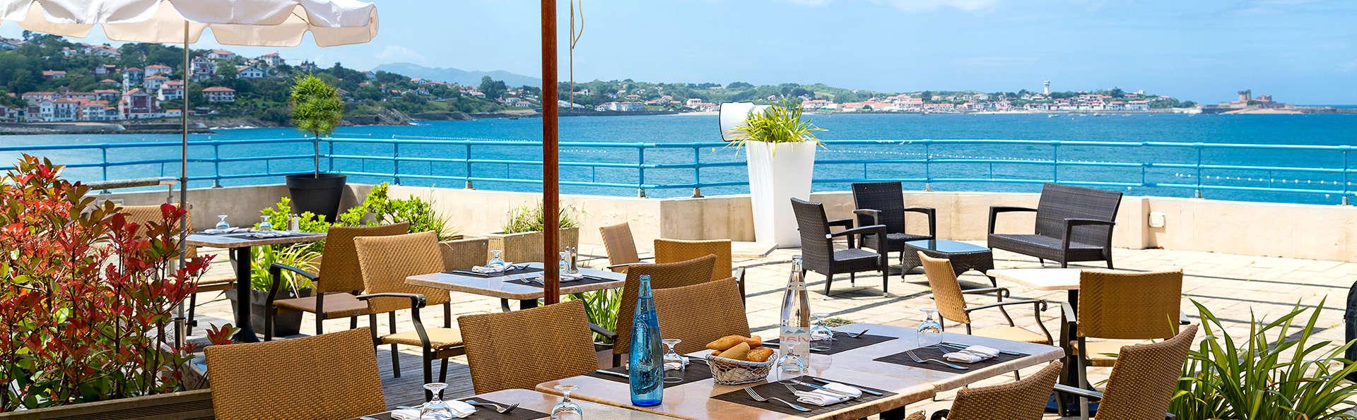 Escapada relax con cena junto al mar, en el corazón de Saint-Jean-de-Luz