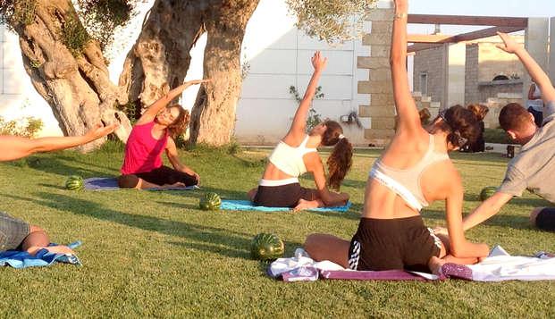 Pilates in masseria con gli ortaggi! Weekend salentino di benessere presso Lecce