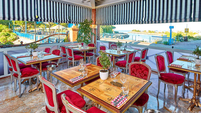 Gourmandise et détente près de Cannes