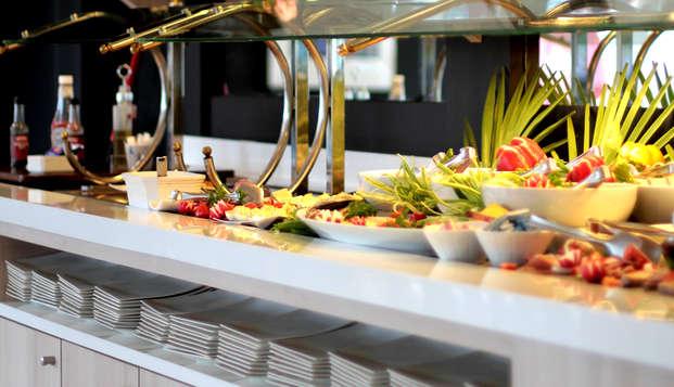 Hotel Kyriad Bordeaux Begles - Breakfast