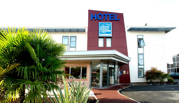 Hotel Kyriad Bordeaux Begles - Front