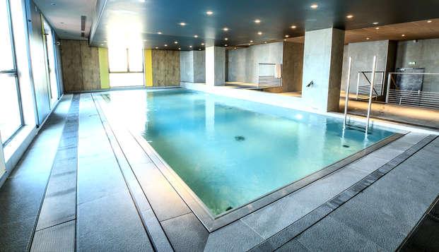 Pausa bienestar y acceso al spa en Niort, al oeste de Francia