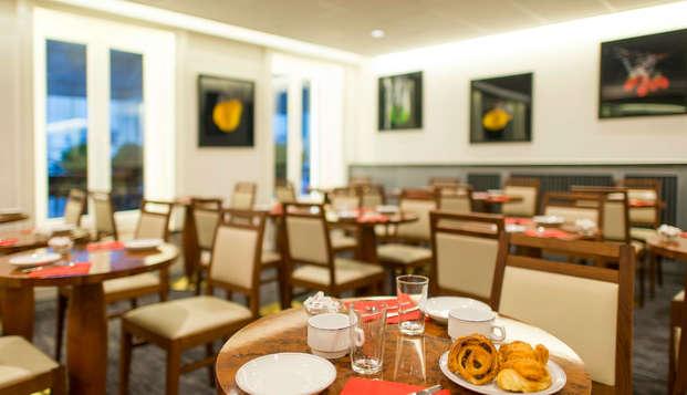 Hotel la Residence - Lyon Bellecour - breakfasr