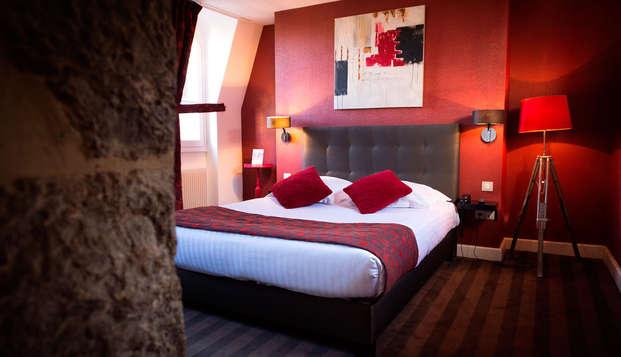 Une nuit pour deux en chambre exécutive à Dijon