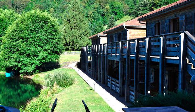 Hotel Lac des Graves - front