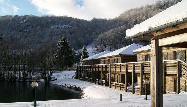 Hotel Lac des Graves - frontsnow
