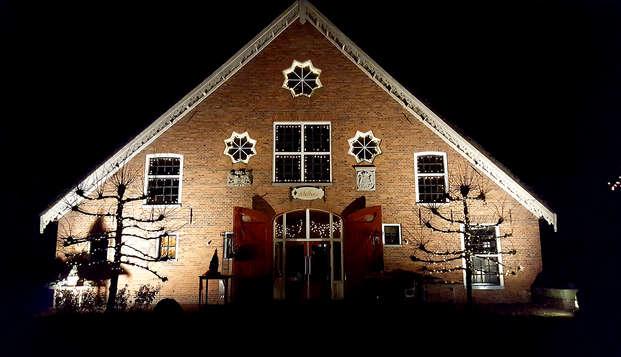 Rust en culinaire verwennerij in de Groningse natuur (vanaf 2 nachten)