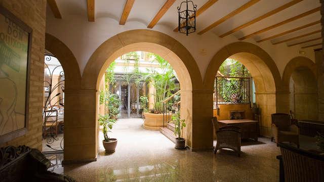 Descubre la Mancha y alójate en esta típica hospedería con cena incluida (desde 2 noches)