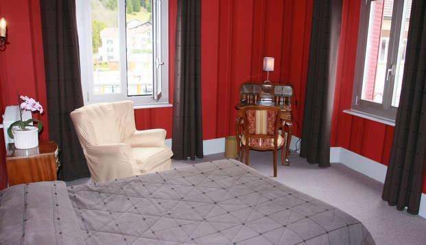 Hotel Le Lac - room