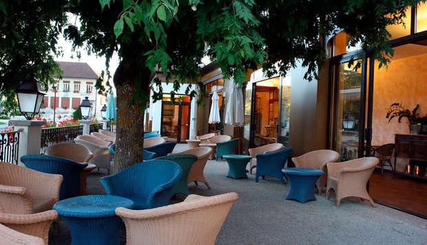 Hotel Le Lac - terrace