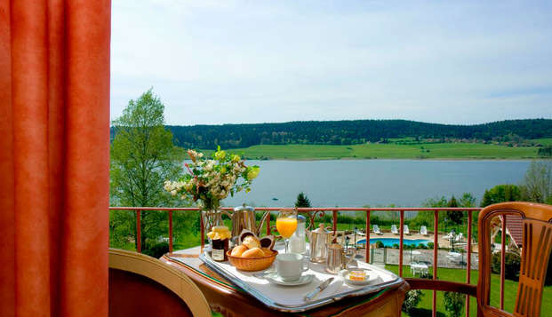 Hotel Le Lac - breakfast