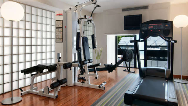 Hilton Brussels City - NEW GYM