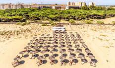 Alquiler de hamacas de playa (día 1, día 2 y día 3)