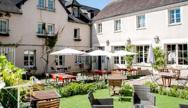 Relax y cena cerca de La Roche-Posay