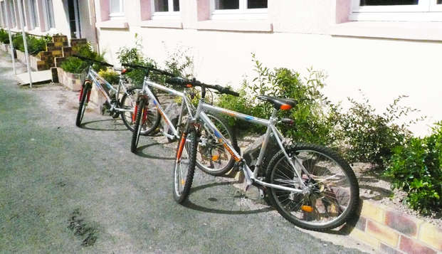 Hotel Le Moulin Neuf - bike